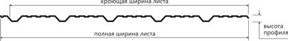 Металлочерепица shake 20shema 20 202 6